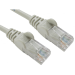 Cables Direct 0.5m Economy 10/100 Networking Cable - Grey