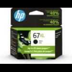 HP 67XL ink cartridge 1 pc(s) Original High (XL) Yield Black