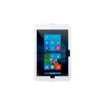 THE JOY FACTORY, INC ELEVATE II ON-WALL MOUNT KIOSK WITH SECURE ENCLOUSURE FOR SURFACE PRO 4 & 3 (WHI