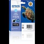 Epson C13T15754010 (T1575) Ink cartridge bright cyan, 26ml