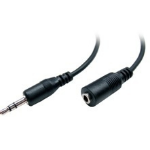 "POLY 46429-01 audio cable 70.9"" (1.8 m) 1 x Mini-phone Male 1 x Mini-phone Female Black"