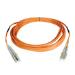Tripp Lite Multimode Fiber Optics 10-m (33-ft.) Duplex MMF 62.5/125 Patch Cable, LC/LC