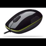 Logitech LS1 mice USB Laser Black
