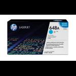 HP 648A originele cyaan LaserJet tonercartridge