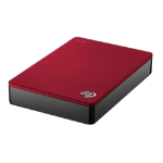 Seagate Backup Plus Portable 4TB external hard drive 4000 GB Red