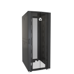 Vertiv VR3150 rack cabinet 42U Freestanding rack Black,Transparent