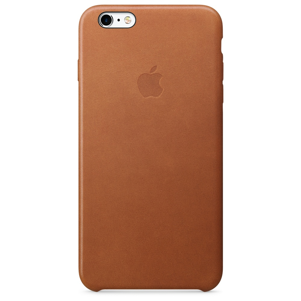 Apple iPhone 6s Plus Leather Case - Saddle Brown