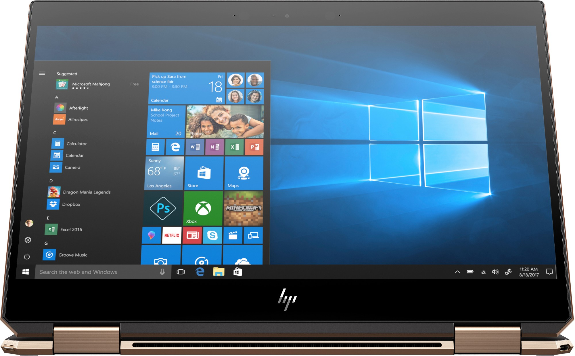 "HP Spectre x360 13-ap0001na Hybrid (2-in-1) 33.8 cm (13.3"") 1920 x 1080 pixels Touchscreen 8th gen Intel® Core™ i7 i7-8565U 8 GB DDR4-SDRAM 512 GB SSD"