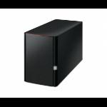 Buffalo LinkStation 220 NAS Compact Ethernet LAN Black
