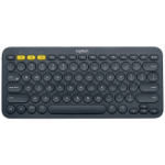 Logitech K380 Bluetooth Black mobile device keyboard