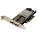 StarTech.com 2-Port 10G Fiber Network Card with Open SFP+ - PCIe, Intel Chip