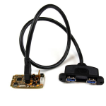 StarTech.com 2-poorts SuperSpeed mini PCI Express USB 3.0 adapterkaart met steunset en UASP-ondersteuning