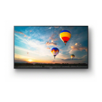 "Sony FW-43XE8001 Digital signage flat panel 43"" LED 4K Ultra HD Wi-Fi Black signage display"