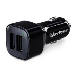 CyberPower TR22U3A mobile device charger Auto Black