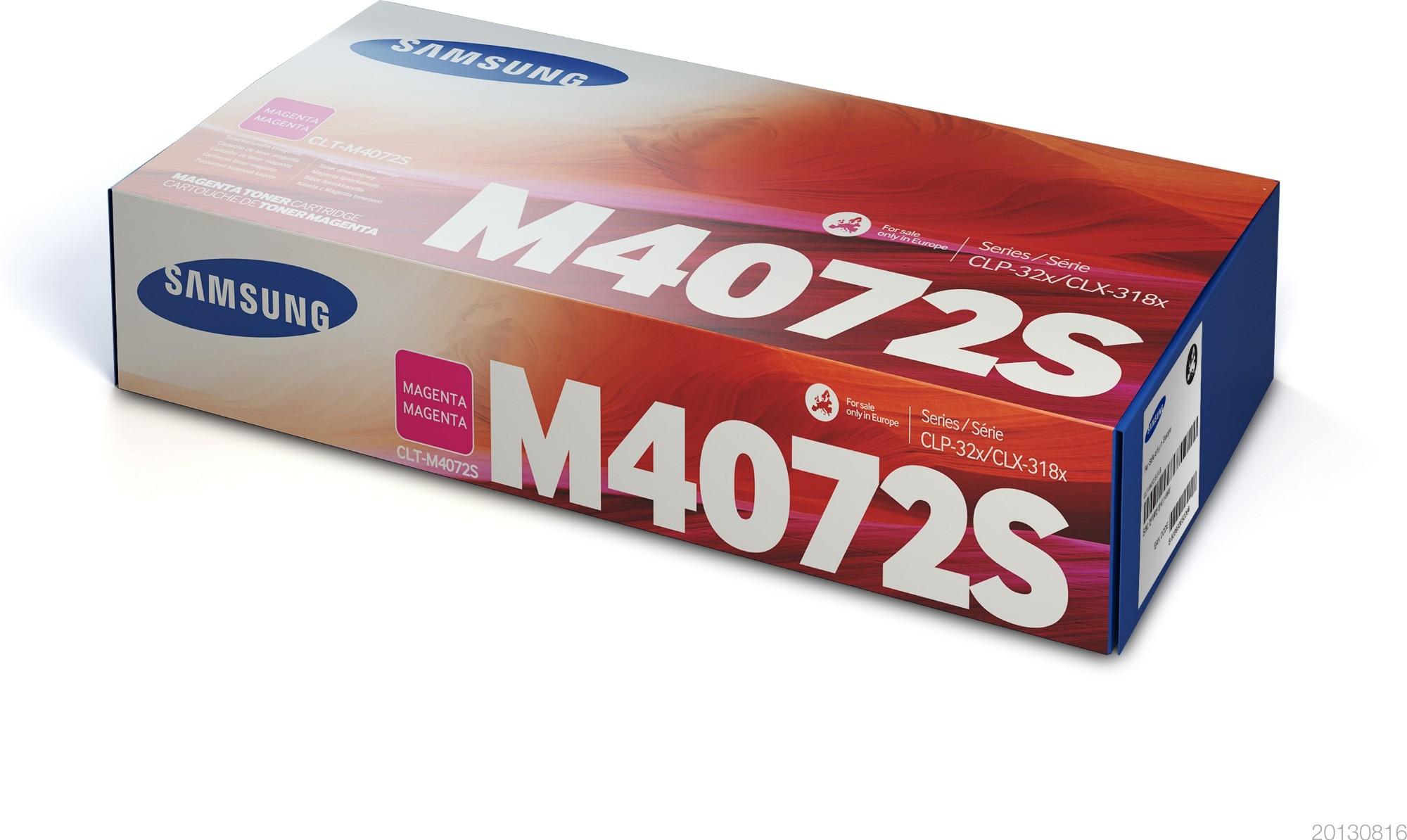Samsung CLT-M4072S Original Magenta 1 pieza(s)