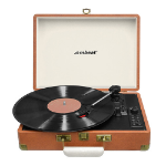 mBeat Retro Turntable Recorder with Bluetooth & USB Direct Recording