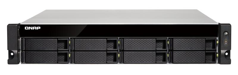 QNAP TS-873U-RP Ethernet LAN Rack (2U) Aluminium,Black NAS