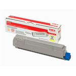 OKI 43487709 Toner yellow, 6K pages @ 5% coverage
