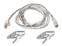 Belkin High Performance - Patch cable 5m UTP ( CAT 6 ) - white