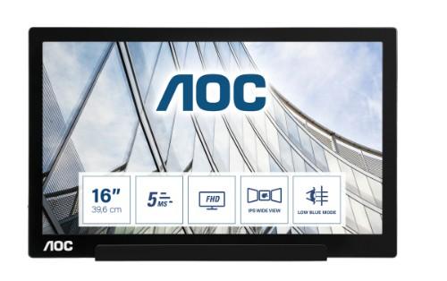 AOC 01 Series I1601FWUX computer monitor 39.6 cm (15.6
