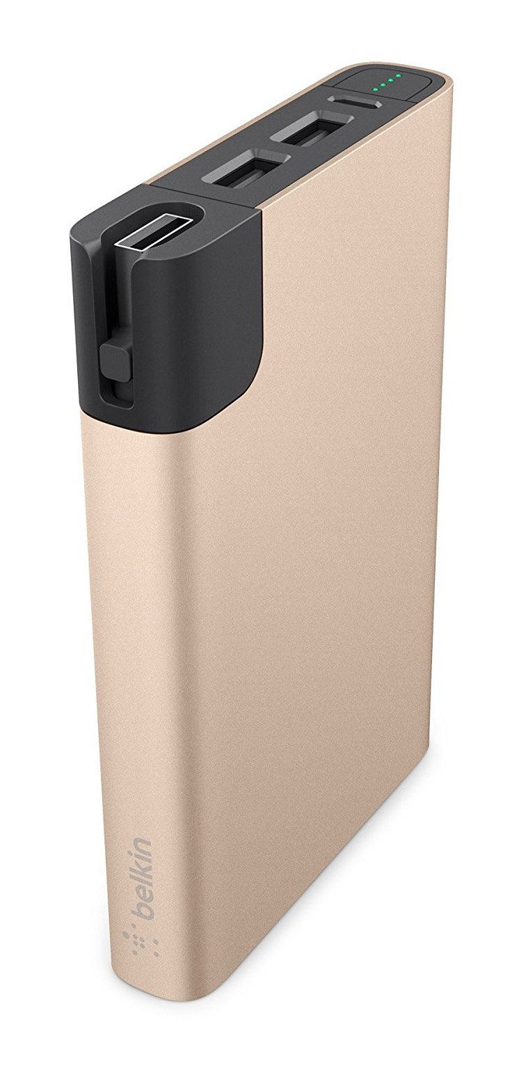 Belkin Premium External Battery 10000mAh For Apple/Android - Gold