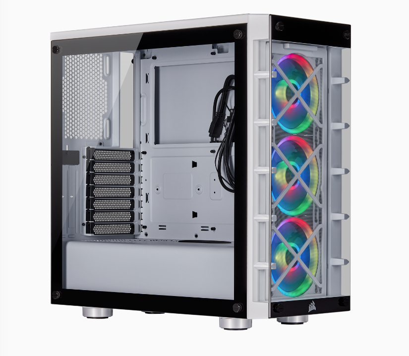 Corsair CC-9011189-WW computer case Midi Tower White