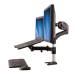 StarTech.com Brazo para un Monitor - Base para Ordenador Portátil con Ajuste de Altura de un Toque