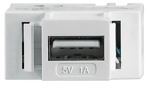 Intellinet Keystone Jack, Charging Port for USB Type-A, Output 5 V / 1 A