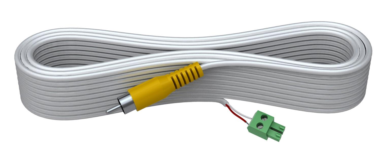 Vision TC2 3M1PHO cable de vídeo compuesto 3 m RCA Terminal Blanco