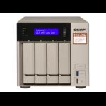 QNAP TVS-473E NAS Tower Ethernet LAN Grijs RX-421BD