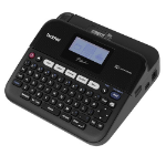 Brother P-TOUCH, 20mm/SEC, QWERTY KB, 3.5/6/9/12/18mm LABELS, 14 FONTS/9 BARCODE TYPES, PC/MAC