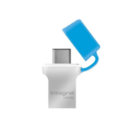 Integral FUSION 3.0 TYPE-C USB flash drive 16 GB USB Type-A / USB Type-C 3.2 Gen 1 (3.1 Gen 1) Silver,Blue