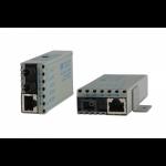 Omnitron miConverter 10/100 network media converter 100 Mbit/s 1310 nm Multi-mode