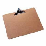 Q-CONNECT KF01305 clipboard Brown