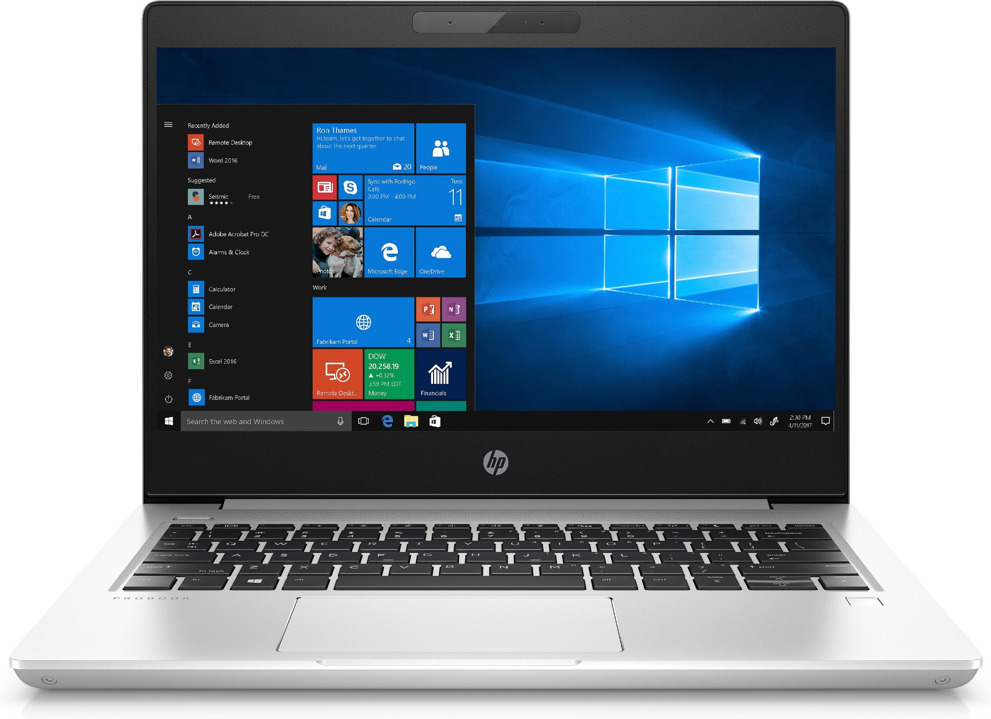 HP ProBook 430 G6 Notebook Silver 33.8 cm (13.3