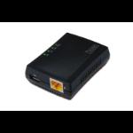 Digitus DN-13020 print server Ethernet LAN Black