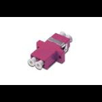 Digitus LC / LC Duplex Coupler, OM4, color pink