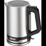 Zanussi ZEK-1240-SS electric kettle 1.7 L 2200 W Black, Silver