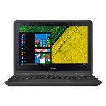 "Acer Spin SP111-31-C1HE 1.1GHz N3350 11.6"" 1366 x 768pixels Touchscreen Black Hybrid (2-in-1)"