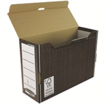 Bankers Box Bankers Box by Fellowes Premium Transfer File Woodgrain Ref 00053-FF [Pack 10]