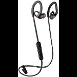 Plantronics BackBeat Fit 350 Auriculares gancho de oreja, Dentro de oído Negro, Gris