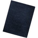 Fellowes 52136 Wood pulp Navy 200pcs binding cover