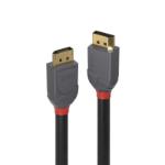 Lindy 36484 DisplayPort cable 5 m Black, Grey