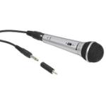 Hama 00131597 microphone Karaoke microphone Wired Black,Silver
