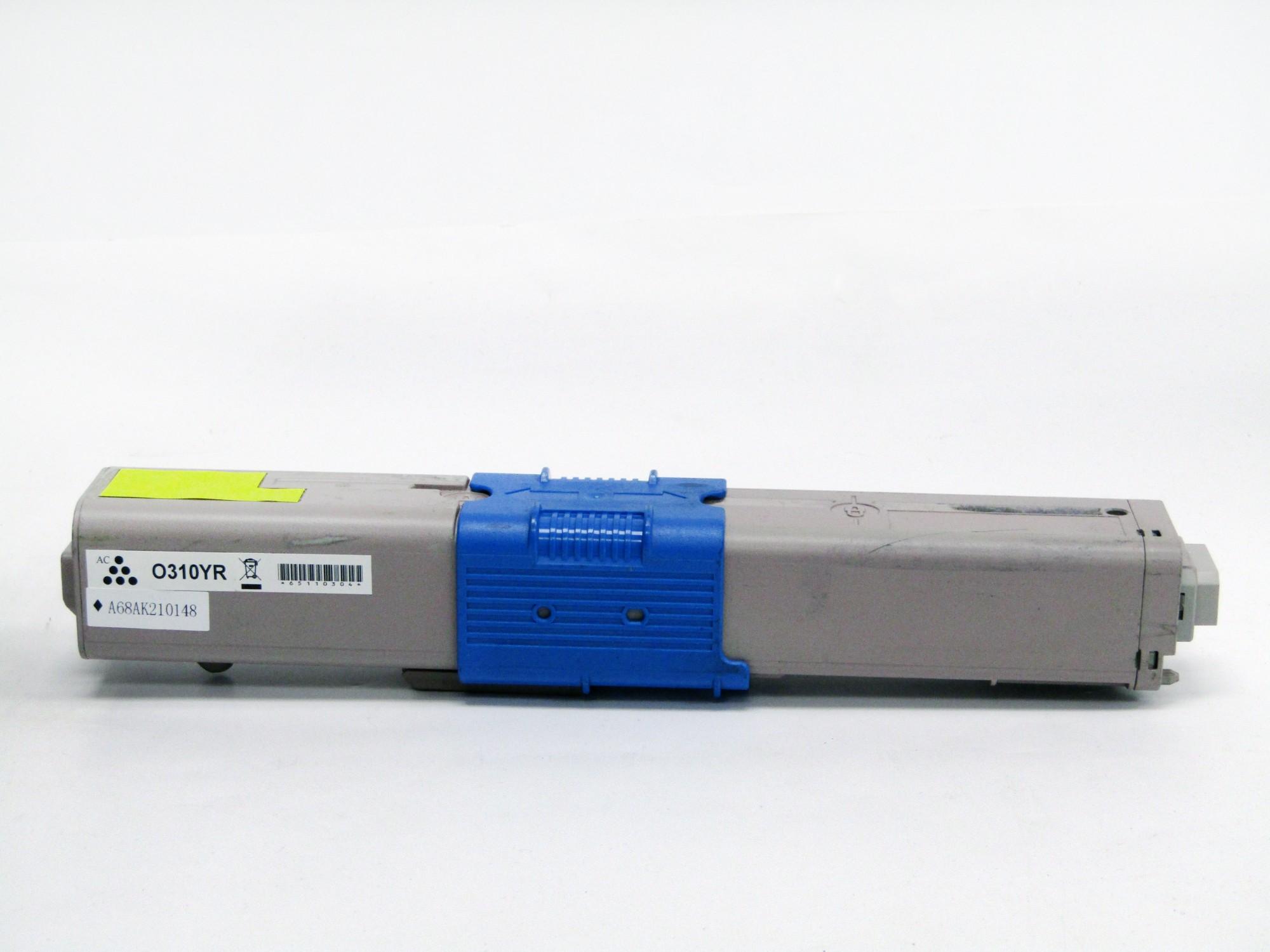 Remanufactured OKI 44469704 Yellow Toner Cartridge