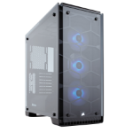 Corsair Crystal 570X Midi-Tower Black,Transparent