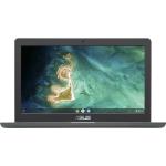"ASUS Chromebook C403NA-FQ0019 notebook Grey 35.6 cm (14"") 1366 x 768 pixels Intel® Celeron® 4 GB LPDDR4-SDRAM 32 GB eMMC Wi-Fi 5 (802.11ac) Chrome OS"
