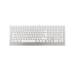 CHERRY STRAIT 3.0 keyboard USB German Silver,White