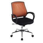Eliza Tinsley Carousel Mesh Back Operator Chair Orange DD