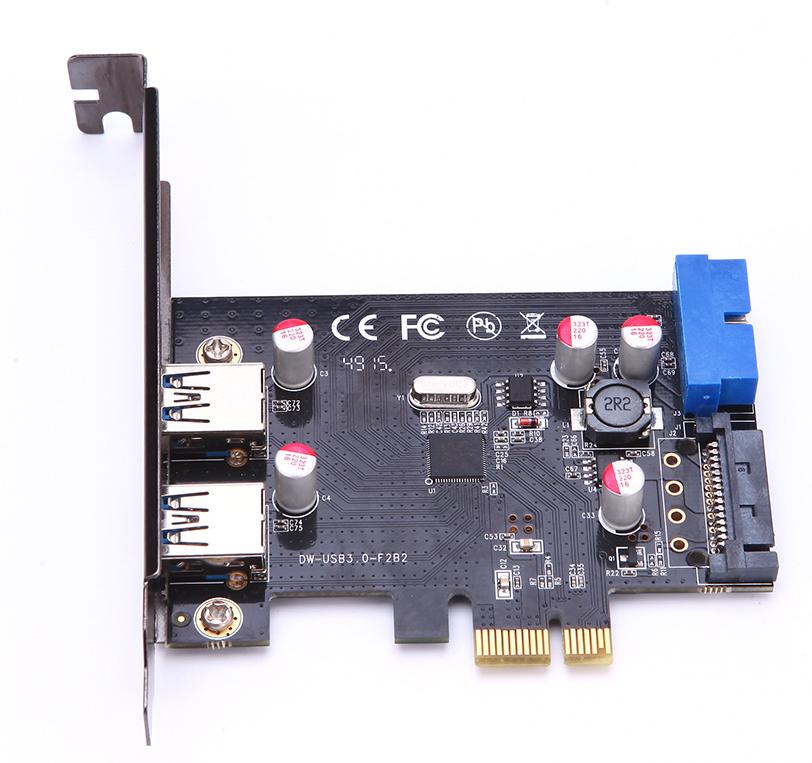 Microconnect MC-USB3.0-F2B2-V2 interface cards/adapter USB 3.2 Gen 1 (3.1 Gen 1) Internal